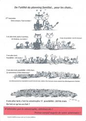 Courbe des chats